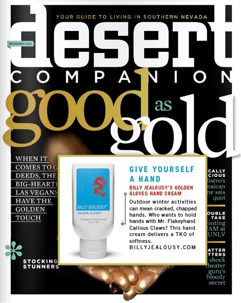 Billy Jealousy Golden Gloves featured in Desert Companion Magazine