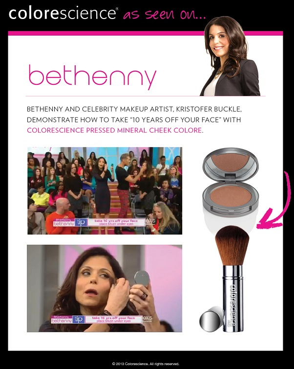 Colorescience Pressed Mineral Cheek Colore Featured on Bethenny
